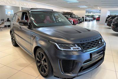 Land Rover Range Rover Sport 5,0 V8 SVR Aut. bei Autohaus Lehr GmbH in