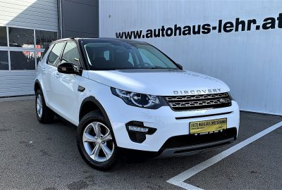 Land Rover Discovery Sport 2,0 TD4 4WD SE bei Autohaus Lehr GmbH in